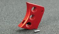 AIP Aluminum Trigger (Type E) for Marui Hi-Capa (Red/Long)