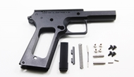 Gunsmith Bros SV- 1911 Square Trigger Guard Aluminum Frame(Black)
